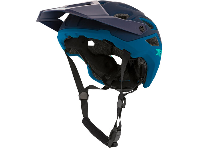 O'Neal Pike 2.0 Fietshelm Solid, blauw/turquoise
